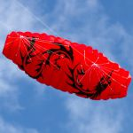 Kiting – podzimní akrobacie s létajícím drakem