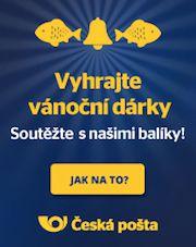 Dárek navíc od České pošty!