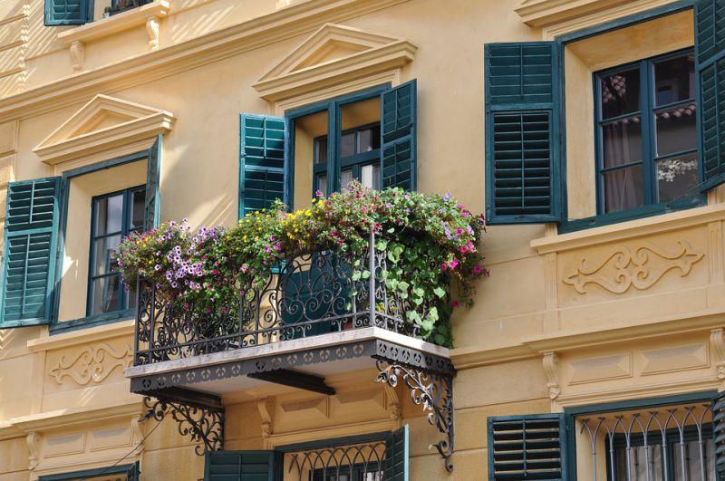 Malá oáza klidu a přírody na balkoně