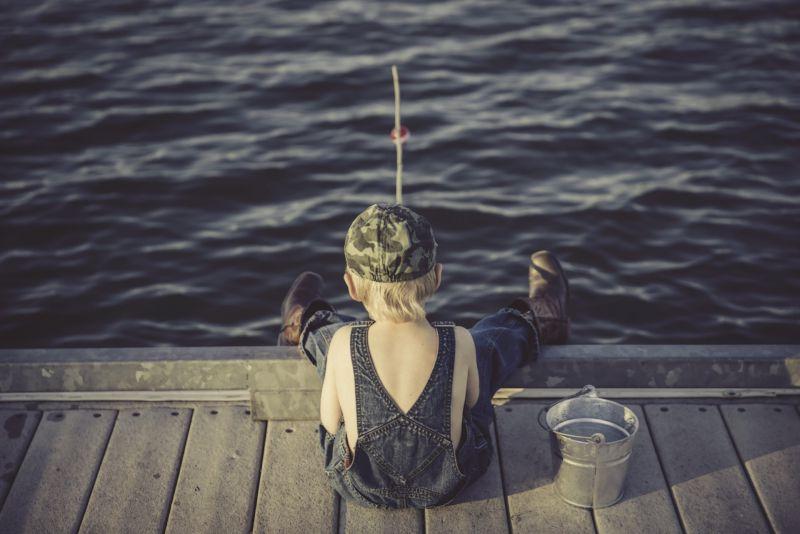 Krásné je rybaření