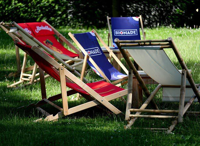 Zahradní lehátka pro maximální relaxaci