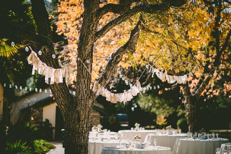 Podzimní oslavy na zahradě