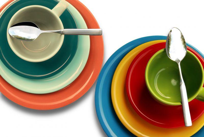 Kuchyň plná barev
