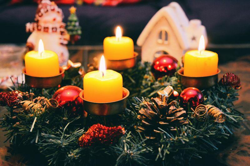 Originální adventní a vánoční výzdoba
