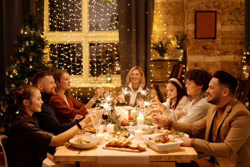 Trendy vánoční výzdoby a tabule