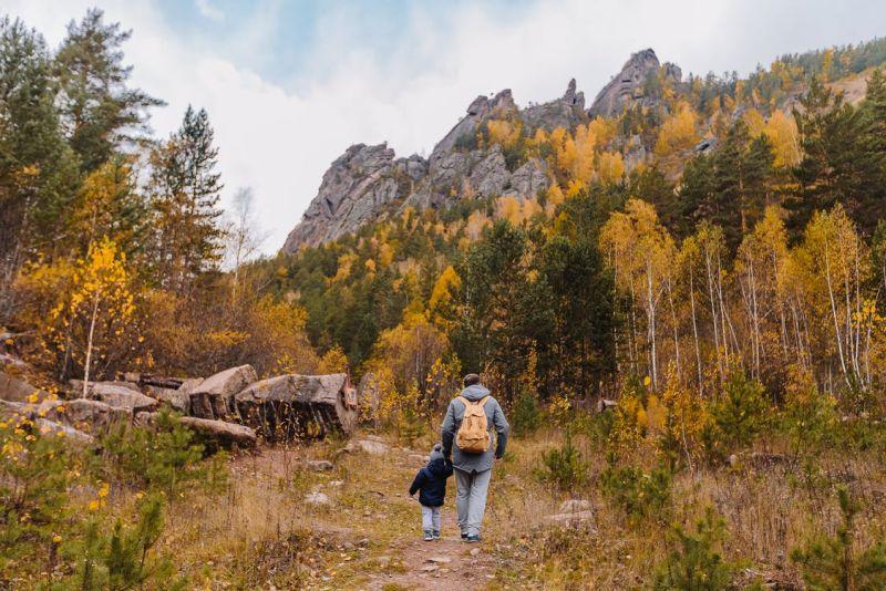 Podzimní výlety s rodinou