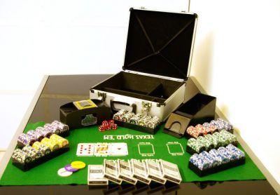 Garthen OCEAN Poker set 600 ks žetonů s příslušenstvím