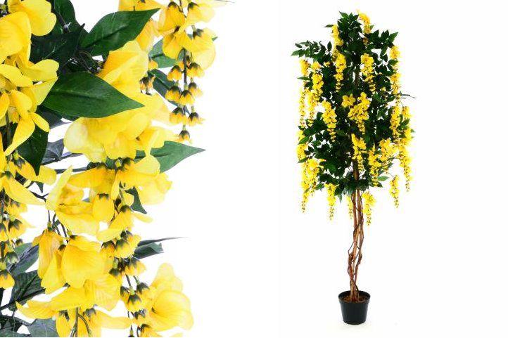 Umělá květina - zlatý déšť - 180 cm