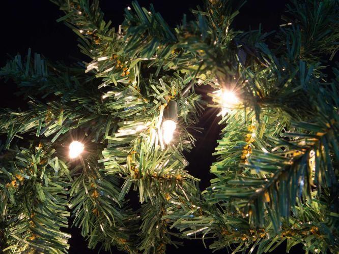 Vánoční dekorace - girlanda s osvětlením, 2,7 m