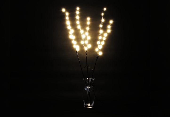 Dekorativní LED osvětlení - teple bílé