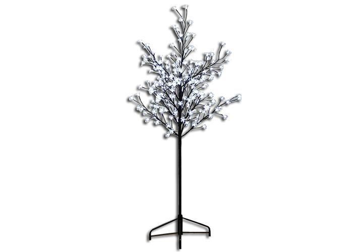 Dekorativní LED osvětlení - strom s květy 1,5 m
