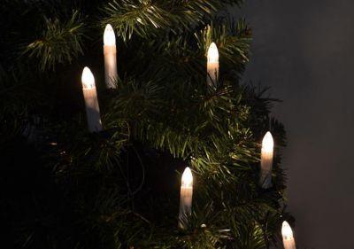 Vánoční svíčky s 30 LED diodami 16,3 m