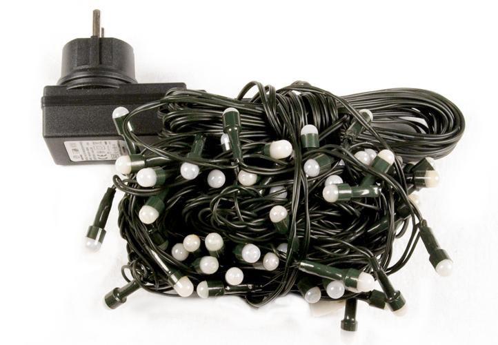 Vánoční LED osvětlení Garth 20 m - teple bílé, 200 diod
