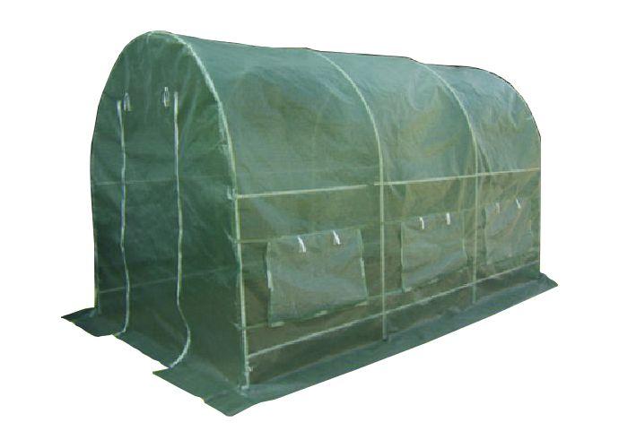 Fóliovník Gardenay transparentní zelená 190 x 200 x 450 cm