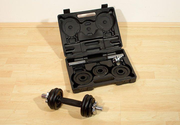OEM Profi set 2 činky v kufříku 7,5 kg