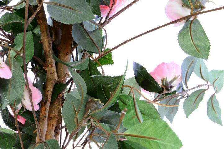 Umělá květina - růžová kamélie - 140 cm