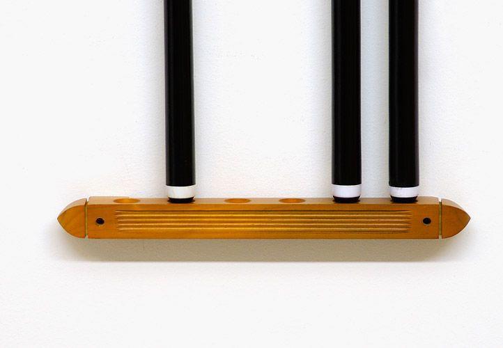 Kulečníkový nástěnný držák na tága přírodní buk 39 cm