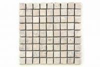 Mramorová mozaika Garth - krémová obklady 1 m2