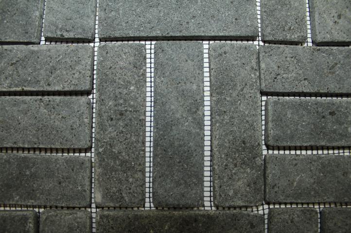 Mozaika z andezitu Garth - černá obklady 1 m2