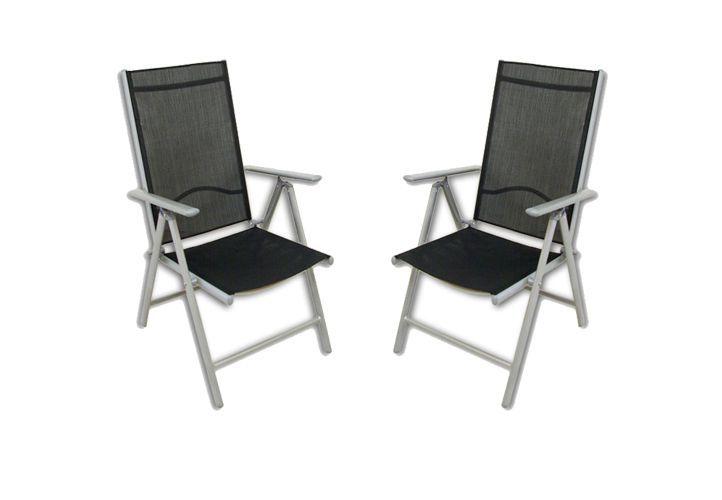 Židle sada skládacích židlí 2 ks