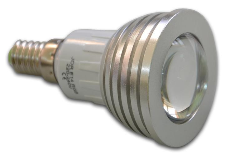 LED žárovka E14  s dálkovým ovládáním Garth