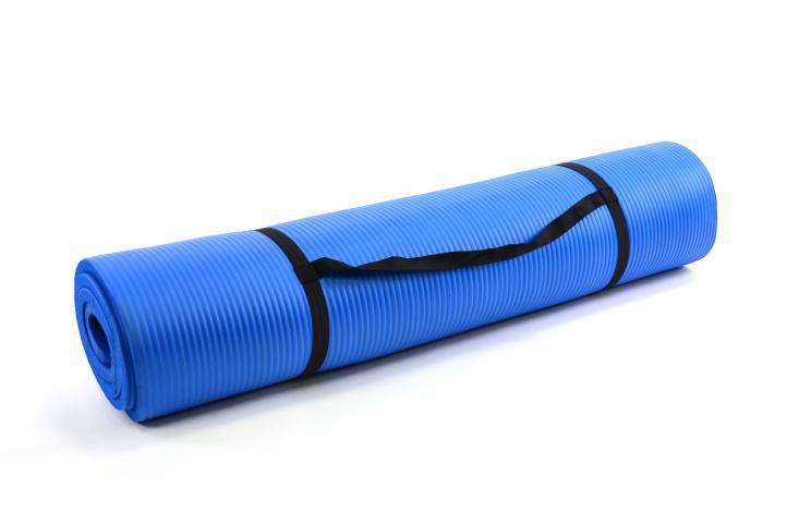 Garthen 19 Podložka na jógu modrá 190 x 102 x 1,5cm