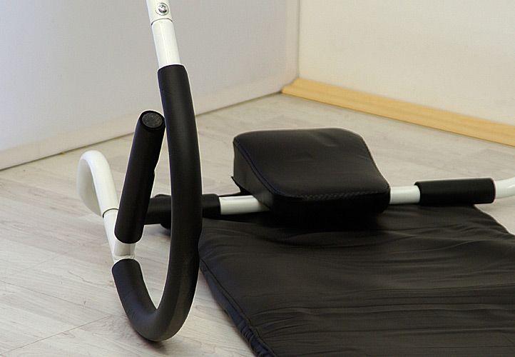 Posilovač břišních svalů AB ROLLER + žíněnka