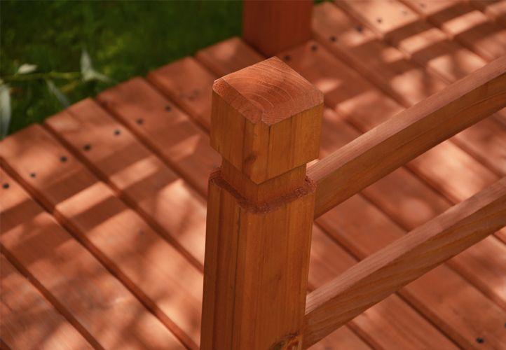 Dřevěný zahradní můstek Garth