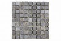 Mramorová mozaika Garth šedá obklady 1 m2