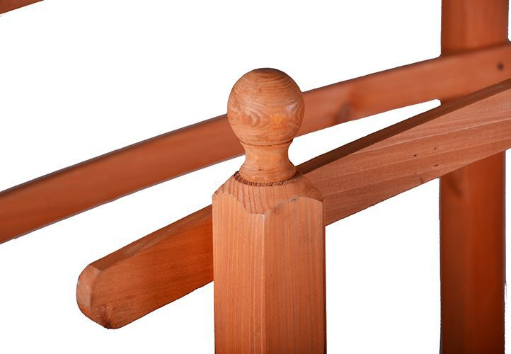 Dřevěný můstek Garth 2,5 m