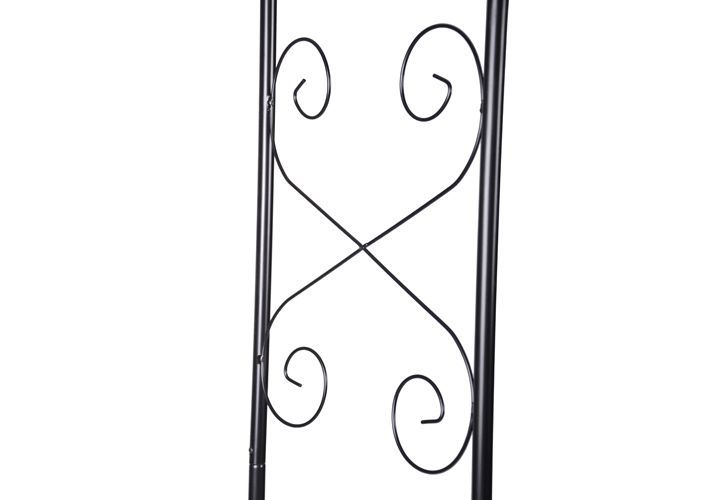 Vchodová oblouková pergola - oblouk na růže