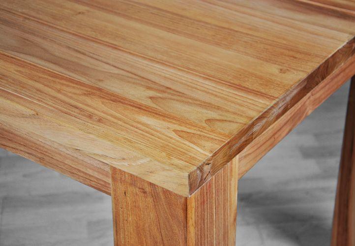 Zahradní dřevěný stůl z týkového dřeva 180 x 90 x 77cm