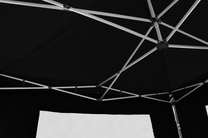 PROFI náhradní střecha na skládací zahradní stan, 3x3 m, černá