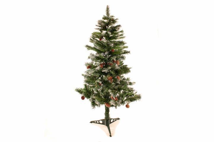 Nexos Trading GmbH & Co. KG 2158 Umělý vánoční stromek se šiškami - 150 cm