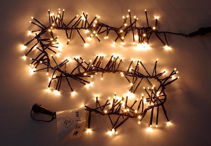 diLED světelný řetěz - 180 LED teple bílá + RYCHLÉ DODÁNÍ