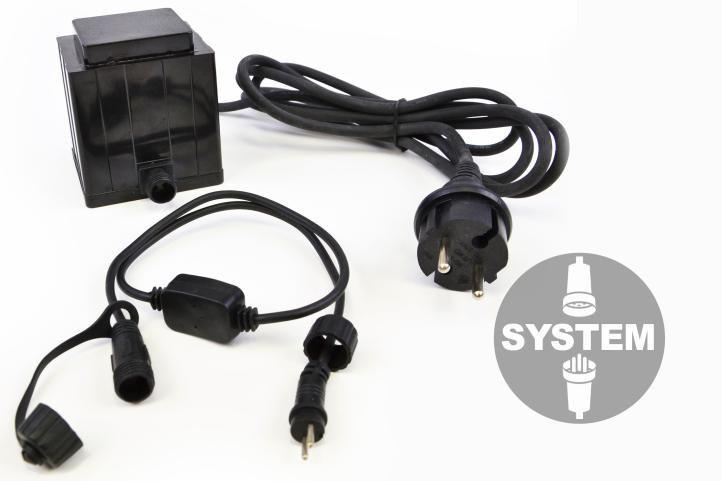 diLED světelný kabel - 40 LED teple bílá + napájení