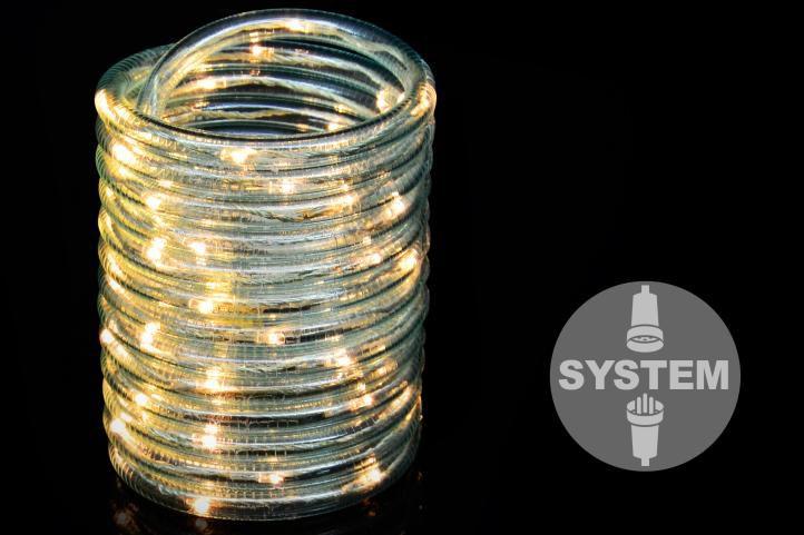 diLED světelný kabel – 60 LED teple bílá