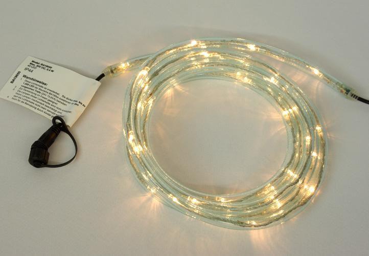 diLED světelný kabel - 60 LED teple bílá + napájení