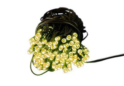 Zahradní světelný řetěz Garth - 200x LED teplá bílá