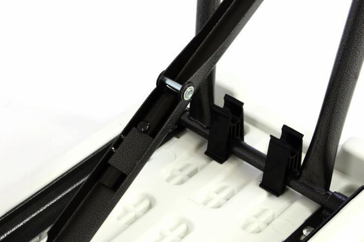 Skládací lavice, 183 cm, 2 ks