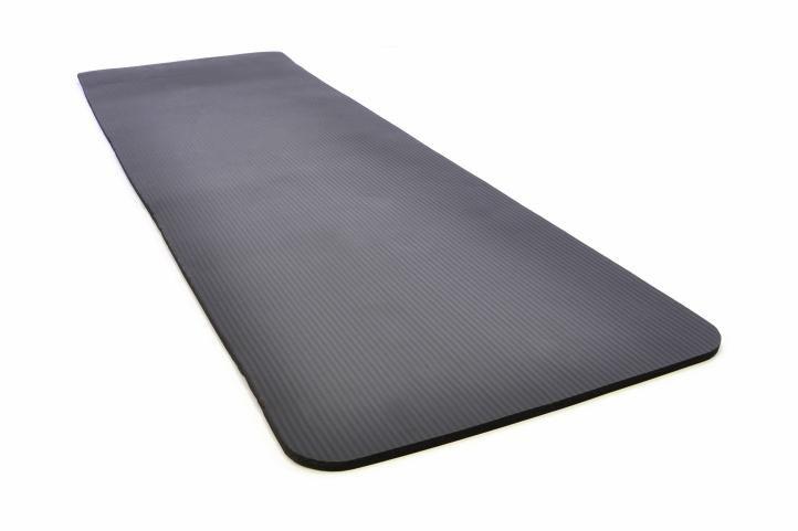 Gymnastická podložka 190 x 60 x 1,5 cm - černá
