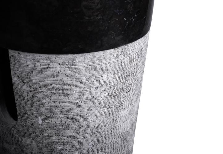 Kamenné umyvadlo Cuneo DIVERO - volně stojící