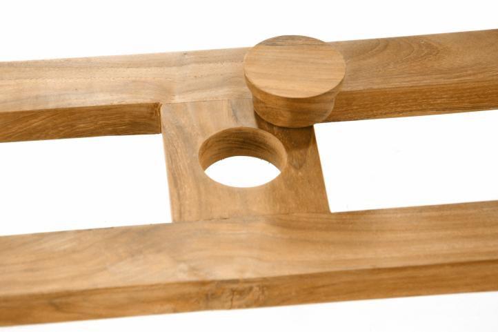 DIVERO zahradní nábytek z týkového dřeva