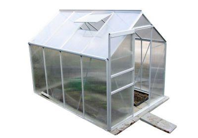 Skleník Garthen 250 x 190 cm - 4,75 m2 + okno