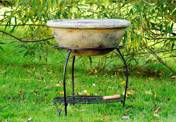 Terakotová zahradní mísa na oheň TERA