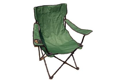 Kempinková skládací židle s držákem nápojů