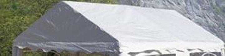Náhradní střecha k party stanu 3 x 4 m, bílá