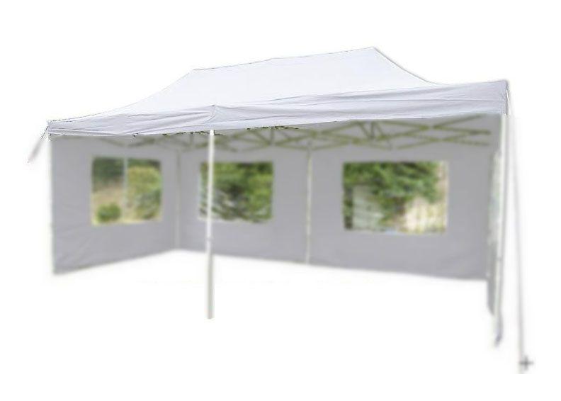 Náhradní střecha k party stanu 3 x 6 m, bílá