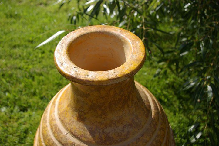 TERA Venkovní zahradní  terakotový krb 89 cm