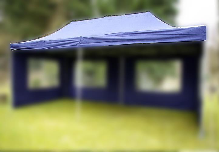 Náhradní střecha k párty stanu 3 x 6 m, modrá